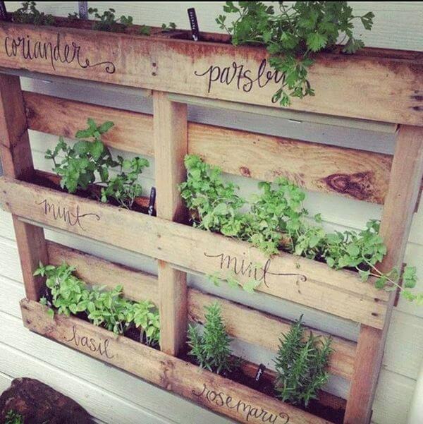 horta-suspensa-com-pallet-gardens-herbs