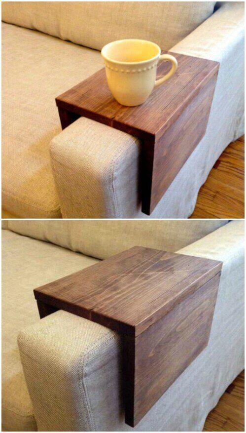 artesanato-em-madeira-lugar-americano-para-sofá