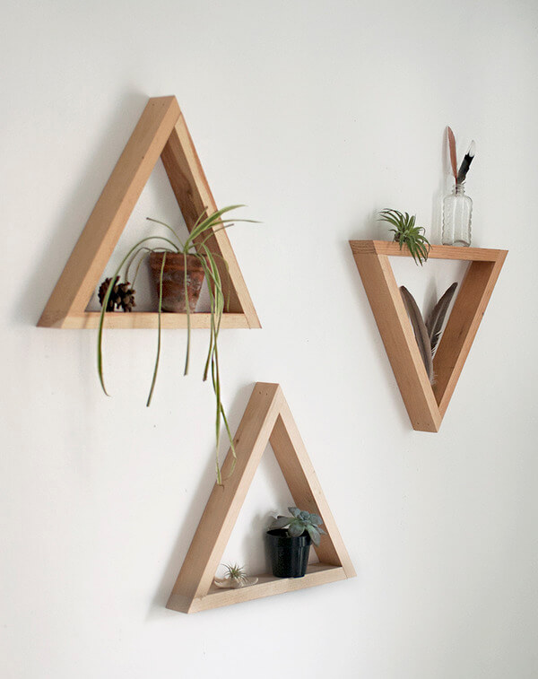 artesanato-em-madeira-nichos-triangulares
