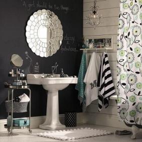 Banheiro-com-parede-de-tinta-lousa