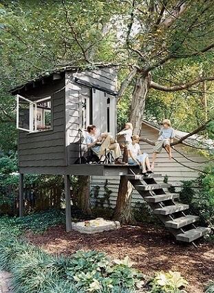 Casa-na-árvore-para-família-toda