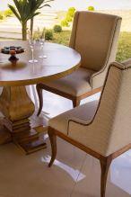 Casual - 1065 Mesa de jantar e 1061 Cadeira - Detalhe